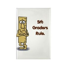 5th Graders Rule Rectangle Magnet (10 pack)