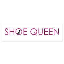 Pink Shoe Queen Bumper Bumper Sticker