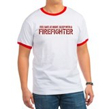 Feel Safe With A Firefighter Tee-Shirt