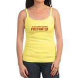 Feel Safe With A Firefighter Ladies Top