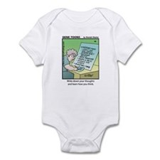 #86 How you think Infant Bodysuit