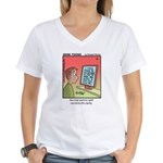 #89 Spell out terms Women's V-Neck T-Shirt