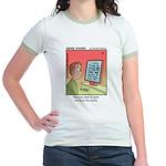 #89 Spell out terms Jr. Ringer T-Shirt