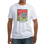 #89 Spell out terms Fitted T-Shirt