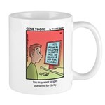 #89 Spell out terms Mug
