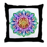 Faery Flower Throw Pillow