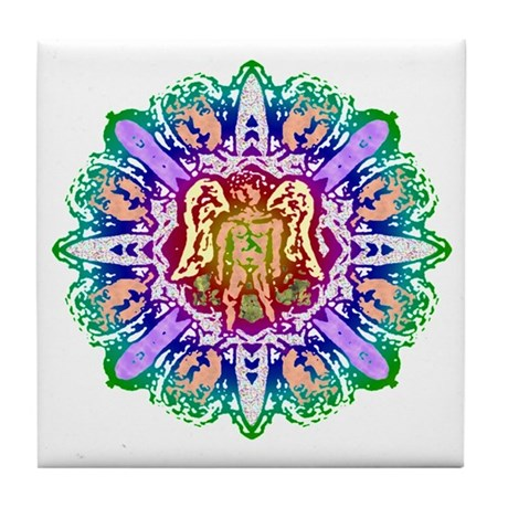 Faery Flower Tile Coaster
