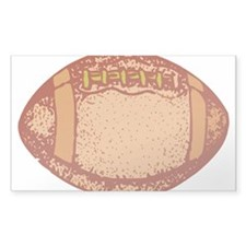 FOOTBALL_12 Rectangle Sticker 50 pk)