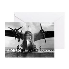 US NAVY FLYING BOAT Greeting Card