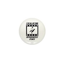 Orthodontics Stunts Mini Button (100 pack)