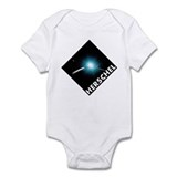 Hershel Space Telescope Infant Bodysuit