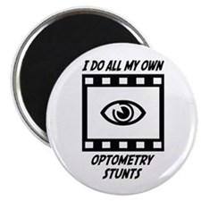 "Optometry Stunts 2.25"" Magnet (100 pack)"