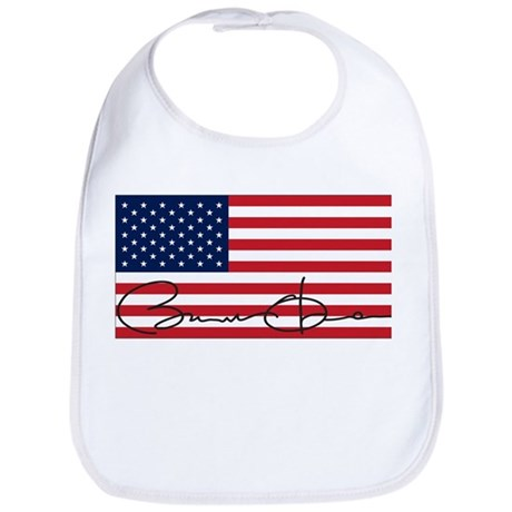 Obama Flag Signature Bib