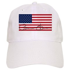 Obama Flag Signature Cap