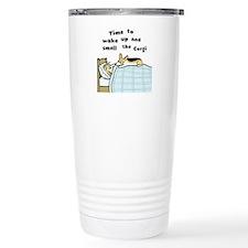 Wake Up & Smell the Corgi Travel Mug