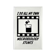 Microbiology Stunts Rectangle Magnet (10 pack)