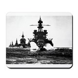 BATTLESHIP USS PENNSYLVANIA Mousepad