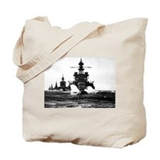 BATTLESHIP USS PENNSYLVANIA Tote Bag