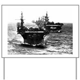 WWII AIRCRAFT CARRIERS Yard Sign