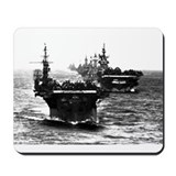 WWII AIRCRAFT CARRIERS Mousepad