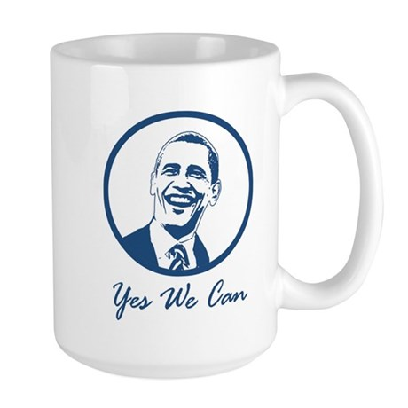 Yes we Can Large Mug