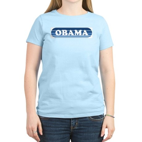 Retro Obama Women's Light T-Shirt