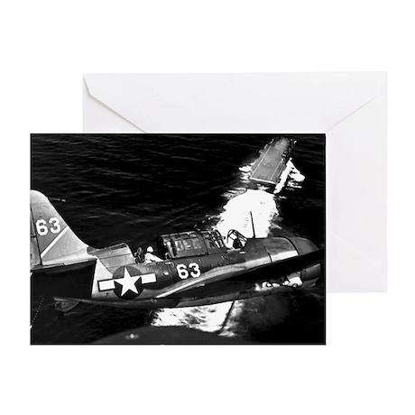 Helldiver Diver Bomber Greeting Card