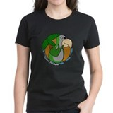 Cartoon Bird Quaker Parrot Tee