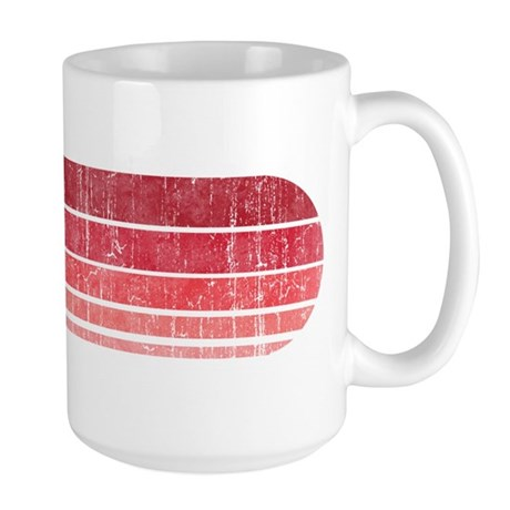 Obama (retro red) tshirts, bu Large Mug