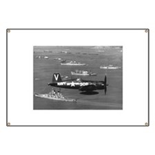 F4U-4B CORSAIR FIGHTER Banner