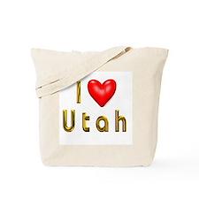 Love Utah Tote Bag