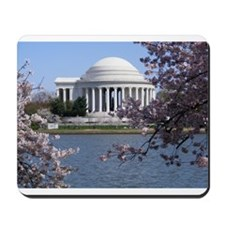 Unique Washington dc cherry blossom Mousepad