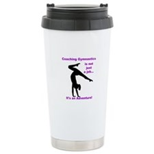 Gymnastics Coach Travel Mug