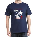 Cheval Canadien - Iron Horse - T-Shirt