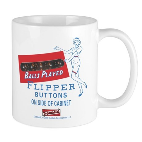 "Gottlieb® ""Flipper Girl"" Mug"