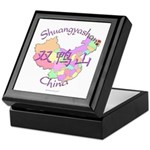 Shuangyashan China Keepsake Box