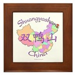 Shuangyashan China Framed Tile