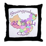 Shuangyashan China Throw Pillow