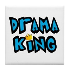 Drama King Tile Coaster
