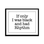 The Rhythmic Framed Panel Print