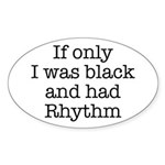 The Rhythmic Oval Sticker