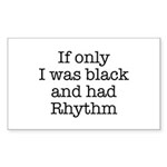 The Rhythmic Rectangle Sticker 10 pk)