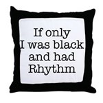 The Rhythmic Throw Pillow