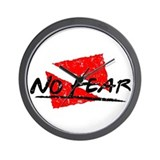 No Fear Dive Flag Wall Clock