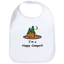 I'm A Happy Camper!! Bib