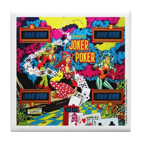 "Gottlieb® ""Joker Poker"" Tile Coaster"