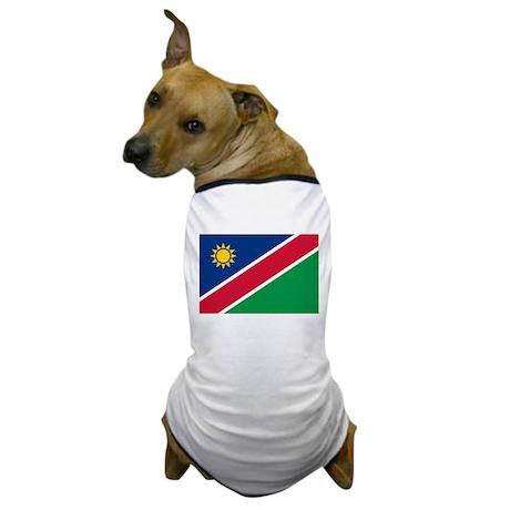 Flag of Namibia Dog T-Shirt