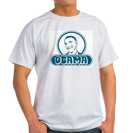 Obama (retro bubble) Light T-Shirt