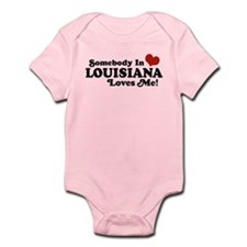 Somebody in Louisiana Loves me Infant Bodysuit