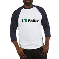 I LOVE PHILADELPHIA I LOVE PH Baseball Jersey